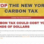 Stop the NY Carbon Tax