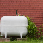 heating oil storage tank